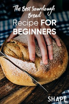 No need to be a seasoned bread-making pro to pull off this easy sourdough bread recipe at home. Easy Sourdough Bread Recipe, Sourdough Bread Starter, Bread Recipes, Baking Recipes, Yeast Bread, How To Make Bread, Bread Baking, Belly Painting, Painting Tattoo