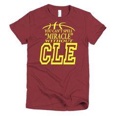 miraCLE - Women's Cleveland Basketball Shirt