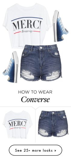 """Untitled #569"" by deima-835 on Polyvore featuring Lovers + Friends, Topshop and Converse"