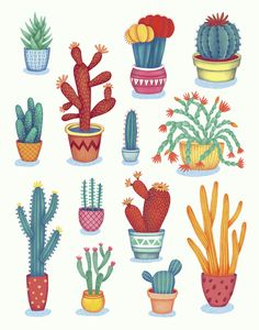 on Student ShowCactus! on Student Show Cute Cactus Clipart, Potted Clip Art, Desert Cactus, Printable Images, Cacti Graphics Set Cactuses Art Print Patio pattern Say hello to the cactus! Such a lovely and lifelong friend Cactus Drawing, Cactus Art, Plant Drawing, Drawing Drawing, Kaktus Illustration, Illustration Art, Deco Floral, Motif Floral, Cactus Pictures