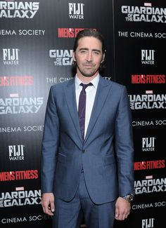 """Lee Pace attends The Cinema Society with Men's Fitness and FIJI Water special screening of Marvel's """"Guardians of the Galaxy"""" at Crosby Street Hotel on July 29, 2014 in New York City."""