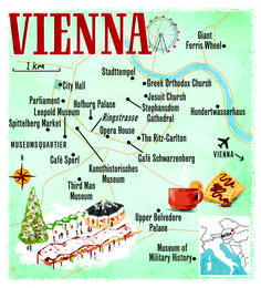 Vienna map by Scott Jessop. January 2014 issue