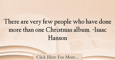 Isaac Hanson Quotes About Christmas - 75678