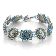 Denim Starlight Bracelet | Fusion Beads Inspiration Gallery