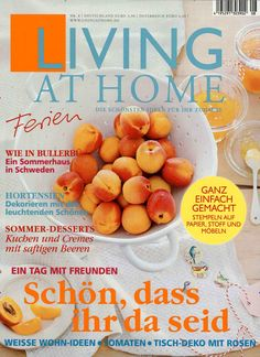 Living at Home Ausgabe Living At Home, Cantaloupe, Cereal, Fruit, Breakfast, Food, Berries, Simple, Morning Coffee