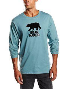 571131bb51ea5 Pajama Top, Naked, Pajamas, Bear, Amazon, Long Sleeve, Medium, Sleeves, Mens  Tops