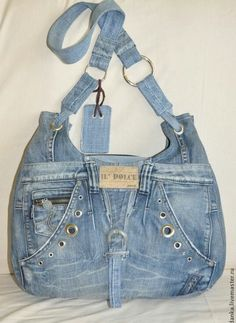60 Unusual Attractive Handbags to Enhance Your Personality Not every handbag is meant for everyone. You need a highly attractive and unusual handbag to match with your personality and demeanor. So explore! Denim Handbags, Purses And Handbags, Denim Purse, Denim Ideas, Denim Crafts, Diy Handbag, Boho Bags, Recycled Denim, Old Jeans