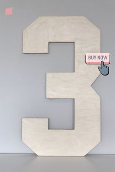 """These 1/2 wood letters are perfect for painting and decorating! These are 1/2"""" thick plywood.We have 12"""" tall up to 42"""" tall available. Smaller sizes available in thinner wood.These letters are perfect for photo props, wedding decor, or home and nursery decor. They are lightly sanded for you and ready for painting, adding decorations, or left as unfinished wood. Not recommended for outdoor use. Unfinished Wood Letters, Wooden Numbers, Letter A Crafts, Photo Props, Nursery Decor, Wedding Decorations, Wedding Decor, Project Nursery, Nursery Design"""