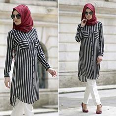 NEVASTYLE - TUNIC - 1069S #hijab #naylavip #hijabi #hijabfashion #hijabstyle #hijabpress #muslimabaya #islamiccoat #scarf #fashion #turkishdress #clothing #eveningdresses #dailydresses #tunic #vest #skirt #hijabtrends