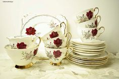 Vintage Royal Stafford Bone China Made in by LittlemixAntique