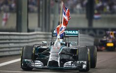 Lewis Hamilton wins the Formula One world title – in pictures
