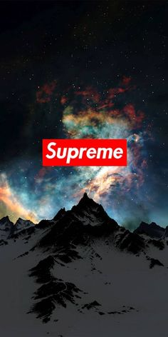 Mountain supreme wallpaper now. Browse millions of popular wallpapers and ringtones on Zedge and personalize your phone to suit you. Browse our content now and free your phone Supreme Iphone Wallpaper, Hype Wallpaper, Iphone Background Wallpaper, Cool Wallpapers Supreme, Best Phone Wallpaper, Savage Wallpapers, Cool Wallpapers For Phones, Phone Wallpapers, Supreme Background