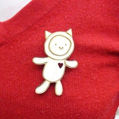Catsuit Pin