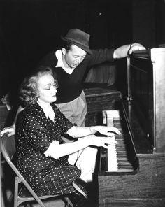 Billy Wilder and Marlene Dietrich
