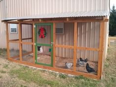 Pole Barn Coop