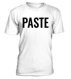 CHECK OUT OTHER AWESOME DESIGNS HERE!            You'll love these matching 'copy and paste' (Ctrl C and Ctrl V) geek humour shirts. The perfect humorous t-shirt for all amazing dads and moms out there - pair with matching 'paste' shirt available for son or daughter. This funny, classic, typographic tee is available in women's (ladies), men's (unisex) and children's (toddlers, kids, youth, girls, boys) sizes, and makes for comfortable casual or sleep w...