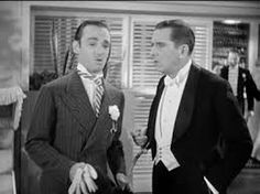 "Erik Rhodes & Edward Everett Horton. ""The Gay Divorcee""."