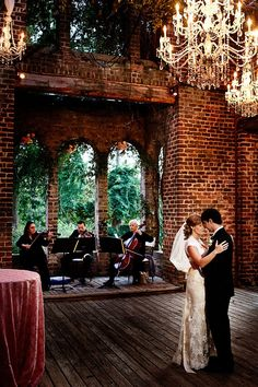 """Do you hear that love there playing our song""  Atlanta Wedding at Barnsley Gardens Resort by Nadia D Photography"
