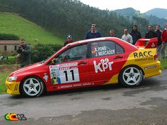 El ganador del grupo N en el Avilés 2003 fue Xevi Pons, que empezaba a destacar a nivel nacional con el EVO VII del RACC
