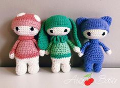 Crochet tutorial: the magic circle :) - Alice Balice - sewing and DIY creative hobbies Crochet Amigurumi, Amigurumi Patterns, Amigurumi Doll, Crochet Dolls, Doll Patterns, Crochet Hats, Crochet Fairy, Cute Crochet, Plushies