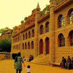Historical Mosque of Uraman Takht, Kurdistan, Iran.