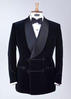 Henry Poole & Co., Velvet Smoking Jacket