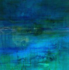 Middelandse zee, schilderij van Brighart, Brighart   Abstract   Modern   Kunst