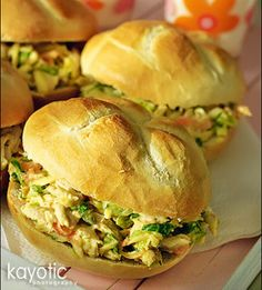 Curried Chicken Salad - the hubs loved it!