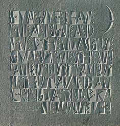 The Art of Letter Carving | typetoken®