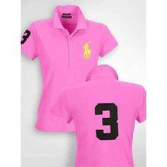Polo Ralph Lauren Womens Big Pony Pink