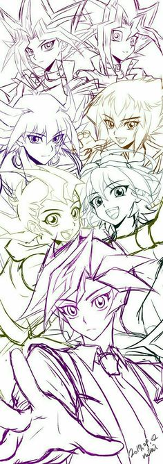Yugioh all characters. My favs are everyone. But yuya loves making people happy and that's my favourite trait. All Anime, Me Me Me Anime, Anime Love, Manga Anime, Anime Art, Atem Yugioh, Yu Gi Oh Zexal, Yu Gi Oh 5d's, Yugioh Collection