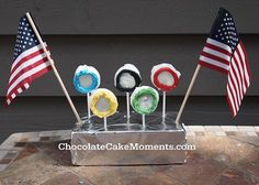 Olympic Ring Cookie Treats for a summer Olympic party