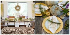 8 Fall Tablescape Ideas - Parties for PenniesParties for Pennies