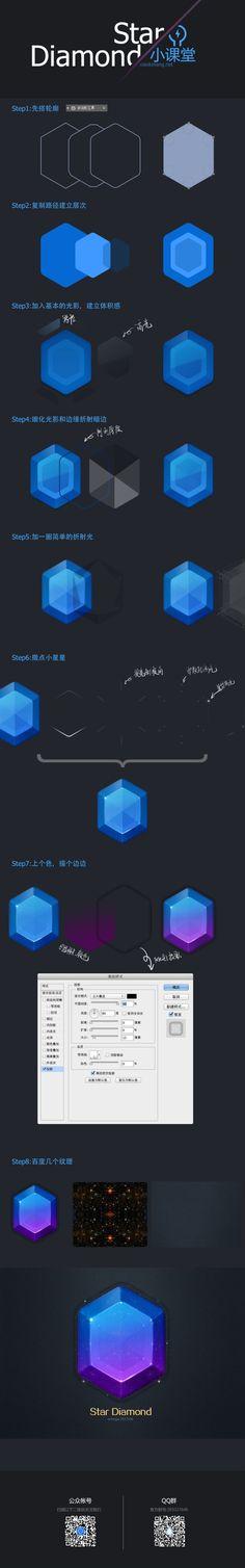Star Diamond - 星之石|GUI|原创/自译教程|shmzfeng - 设计文章/教程分享 - 站酷 (ZCOOL)