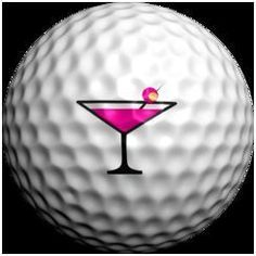 Logo Golf Ball Pink Martini with Plastic Display Case Listing in the Balls,Golf,Sporting Goods Category on eBid United States | 125442961