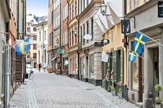 Köpmangatan, Gamla stan (Old Town), Stockholm.