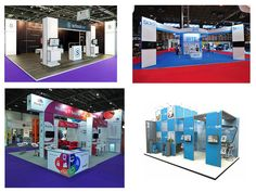 Exhibition Stands Prices : Best linear vector modular exhibition stands images