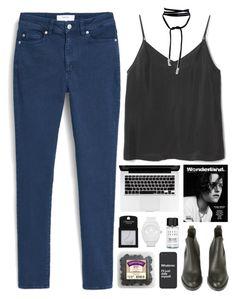 Xianna by aussiegoddess on Polyvore featuring polyvore moda style MANGO Acne Studios adidas Topshop Bobbi Brown Cosmetics MTWTFSS Weekday fashion clothing