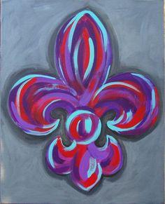 fleur de lis « Cheramie Art