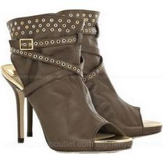 Jimmy Choo Zoe Cutout Eyelet Ankle Boots