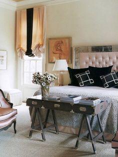 Schlafzimmer-Ideen: Bettende aufmöbeln