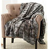 Dashing Super Soft Warm Shaggy Faux Fur Blanket Ultra Plush Decor Throw Blanket Bedding Home & Garden Home & Garden