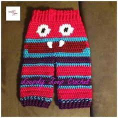 Crochet Baby Monster Pants Pattern Free : Baby Diaper Covers on Pinterest Wool Diaper Covers ...