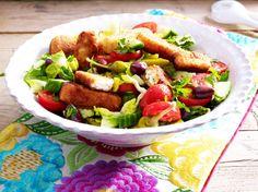 Unser beliebtes Rezept für Bauernsalat mit gebratenem Feta und mehr als 55.000 weitere kostenlose Rezepte auf LECKER.de.