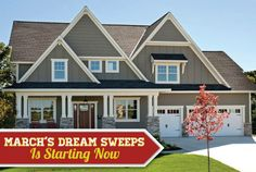 Agents, March's Dream Sweeps is starting today!   Give your fans opportunities to win $1000 each month from your Facebook page. Prizes are provided by us, and given by you!   Learn more about Dream Sweeps here:   #realtors #realestateagents #homebuyers #homesellers