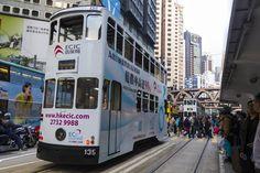 Hong Kong's famous tram. #hongkong #tram