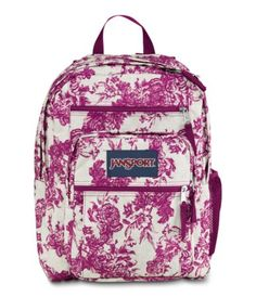 JanSport Big Student School Backpack - MULTI DONUTS | Back to ...
