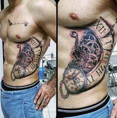Robot Arm Tattoo On Man