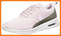 low priced 37f28 6cd75 Nike Women s Air Max Thea TxT Bleached Lilac Bleached Lilac Running Shoe 6  Women US