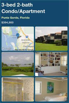 3-bed 2-bath Condo/Apartment in Punta Gorda, Florida ►$394,900 #PropertyForSale #RealEstate #Florida http://florida-magic.com/properties/7700-condo-apartment-for-sale-in-punta-gorda-florida-with-3-bedroom-2-bathroom